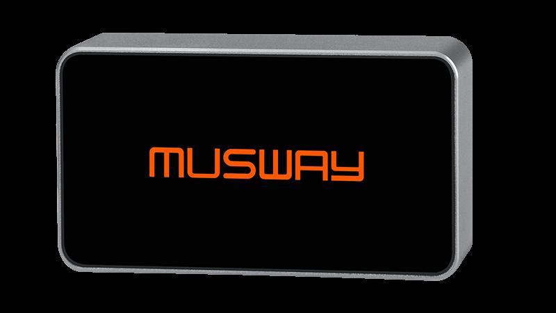 Phụ kiện âm-ly tích hợp DSP Musway