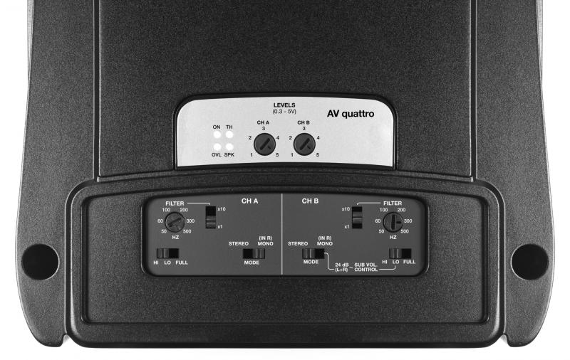 Audison Amply AV quattro 800 506